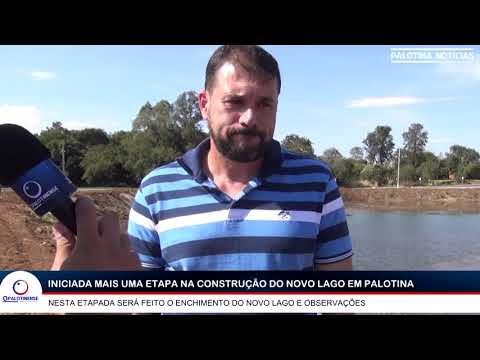Prefeitura de Palotina inicia nova etapa na construção do lago municipal