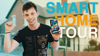 The BEST DIY Smart Home Tech - Full House Tour 2019!