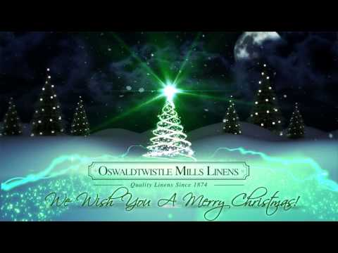 Merry Christmas from Oswaldtwistle Mills Linens