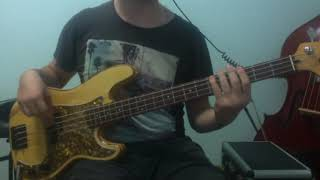 Stuck In A Movie - The Aquabats | Bass Cover