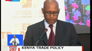 Kenya Industrial Ministry launches the national trade policy and buy Kenya build Kenya strategies