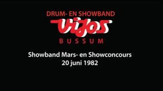 ViJoS Showband Mars- en Show Concours 20 juni 1982 onbekende locatie