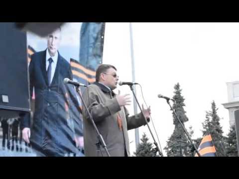 Фёдоров на митинге НОД в Новосибирске 27.09.15