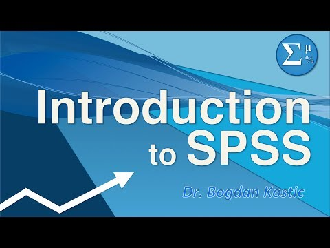 SPSS for Beginners 1: Introduction - YouTube
