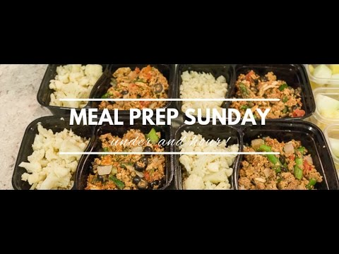 Video Meal Prep Sunday - Tips on What to Cook for The Week Ahead