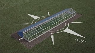 Инновационная теплица для фермерских хозяйств