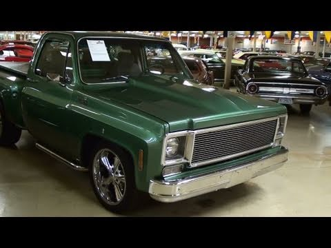 1978 Chevrolet C10 Stepside Hot Rod Pickup