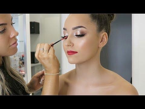 School Formal Makeup  Vlog #4 ♡ Jasmine Hand