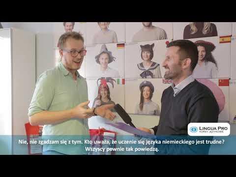Kadr z filmu na youtube - Wywiad z lektorem - Rafałem Schwichtenbergiem