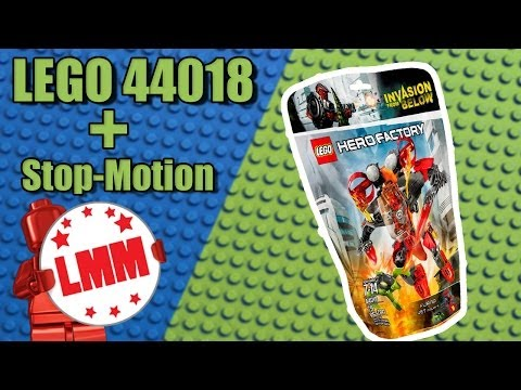 Vidéo LEGO Hero Factory 44018 : Furno et son Jet-Pack