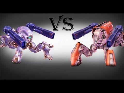 War Robots' Raijin & Fujin VS Battle of Titans' Nelly & Mite
