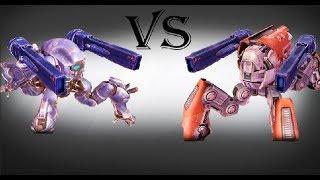 Weyland (flux) Vs Raijin (flux) Test | War Robots