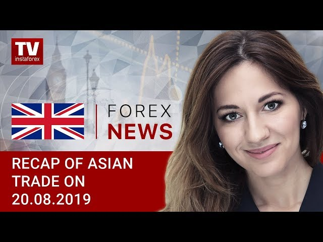 20.08.2019: USD remains flat ahead of Fed's meeting  (USDX, JPY, AUD)