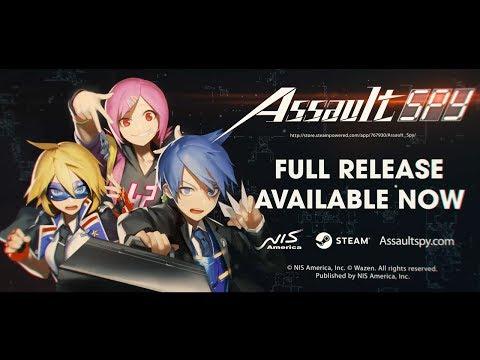 Assault Spy - Launch Trailer (Steam) thumbnail