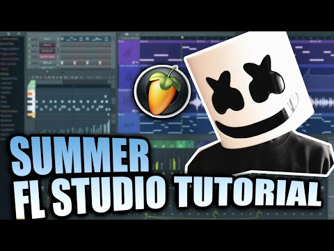 Marshmello - Summer (FL Studio Tutorial)