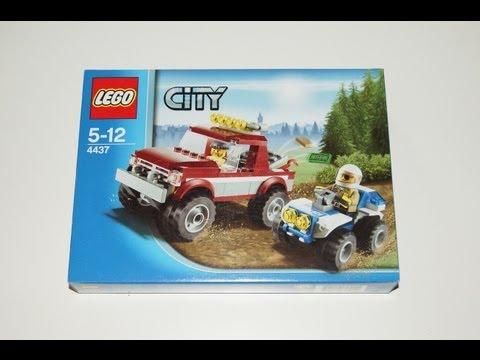 Vidéo LEGO City 4437 : La course poursuite en forêt