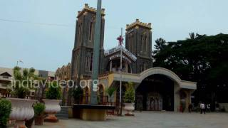 Sacred Heart Church and school, Bangalore