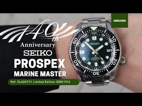 Seiko Prospex Marine Master 140th Anniversary Green Dial SLA047J1