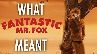 Fantastic Mr  Fox - What it all Meant