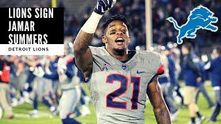 Lions SIGN Jamar Summers! BREAKING NEWS: Detroit Lions Talk
