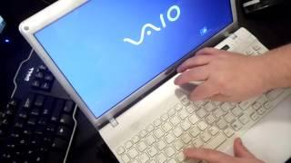 Sony Vaio Laptop Factory Restore reinstall Windows (reset VGN SVE SVD VPC ultrabook Duo T13 E Series