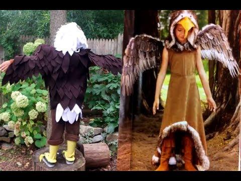 Disfraces de águilas para niños