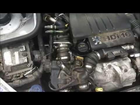 Фото к видео: Замена ремня ГРМ+цепи ГРМ 1.6HDI