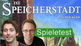 Die Speicherstadt (Spiel) / Anleitung & Rezension / SpieLama