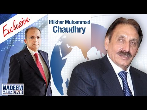Former Chief Justice Ifitkhar Chaudhry Exclusive | Nadeem Malik Live | SAMAA TV | 26 April 2017