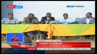 Katibu Mkuu wa Jubilee Raphael Tuju atoa taarifa kuhusu marudio ya uchaguzi wa mchujo wa Jubilee
