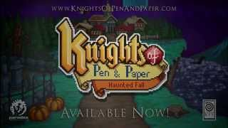 Knights of Pen and Paper: Haunted Fall Youtube Video