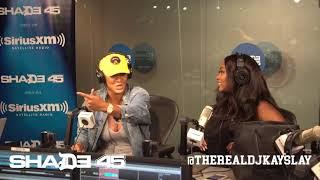 Dj Kayslay interviews Nya Lee live on Shade45
