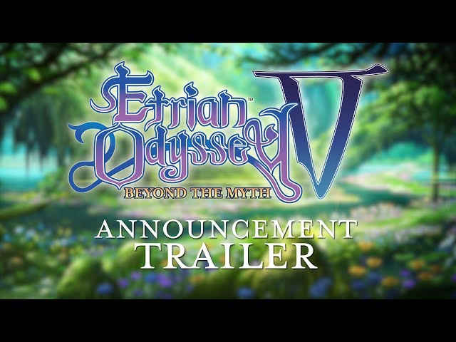 Etrian Odyssey V Announcement Trailer