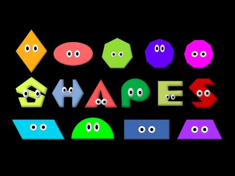 Shapes - Learn 2D Geometric Shapes - The Kids' Picture Show (Fun & Educational Learning Video)