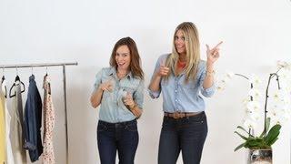 Petite & Tall: How To Wear Denim on Denim