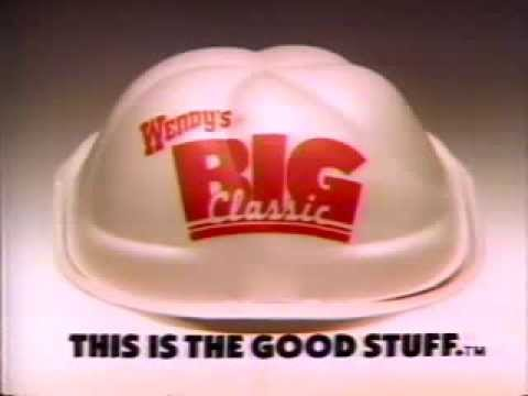 Download Wendy's Big Classic 1986 TV commercial HD Mp4 3GP Video and MP3