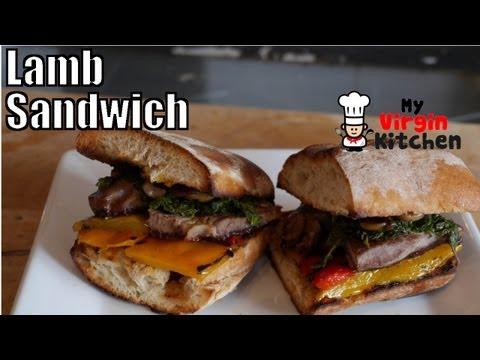 Chunky Lamb & Mint Sandwich Recipe – MYVIRGINKITCHEN