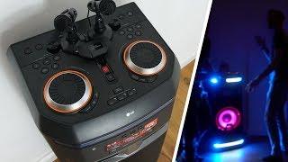 Der größte Bluetooth Lautsprecher der Welt ! ► LG XBOOM OK99 UNBOXING, TEST & REVIEW  [DEUTSCH 4K]