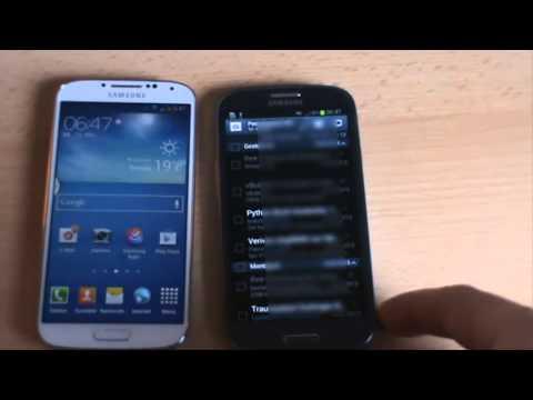 Samsung Galaxy S4 Export / Import Kontakte + Infos zum Zubehör