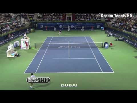 נקודות הטניס המדהימות ביותר