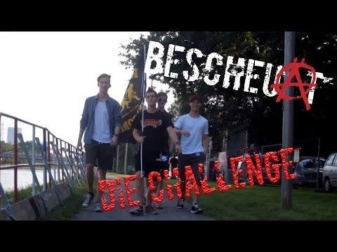 Bescheuat Aufkleber Challenge