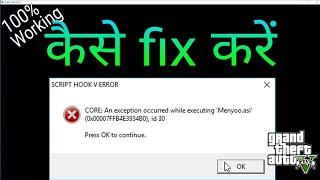 gta v menyoo-asi scripthook v error - Free video search site - Findclip