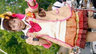 まいどハンバーガールZ・エンジェルビーフくうちゃん 「love Burger」ふかきた音楽祭深北緑地・芝生広場