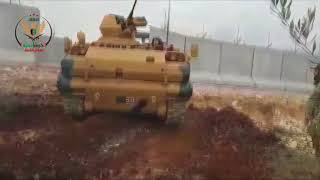 Турки входят в округ Африн в рамках операции «Оливковая ветвь».