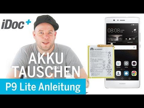 Huawei P9 Lite – Akku tauschen [Reparaturanleitung]