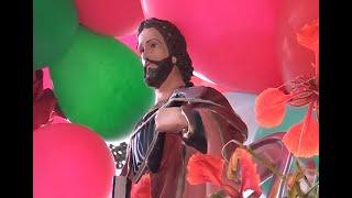 Fiéis se reúnem em carreata em louvor à São Judas Tadeu.