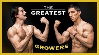 """6 Greatest """"Muscle Growth"""" Techniques of All Time! (THEN & NOW)"""