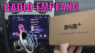 DAB+ BOX für Digitalen Radio Empfang | Kein Radio Empfang im China ANDROID Radio? HIER DIE LÖSUNG!!