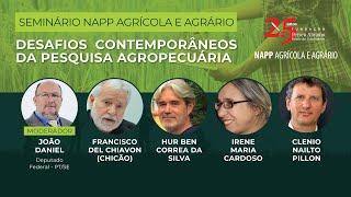 Desafios contemporâneos da pesquisa agropecuária | NAPP Agrícola/Agrário