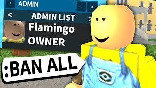 This Roblox game forgot they had me as an admin...